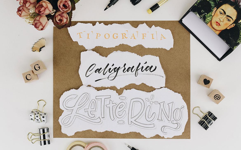 Tipografia, caligrafia e lettering
