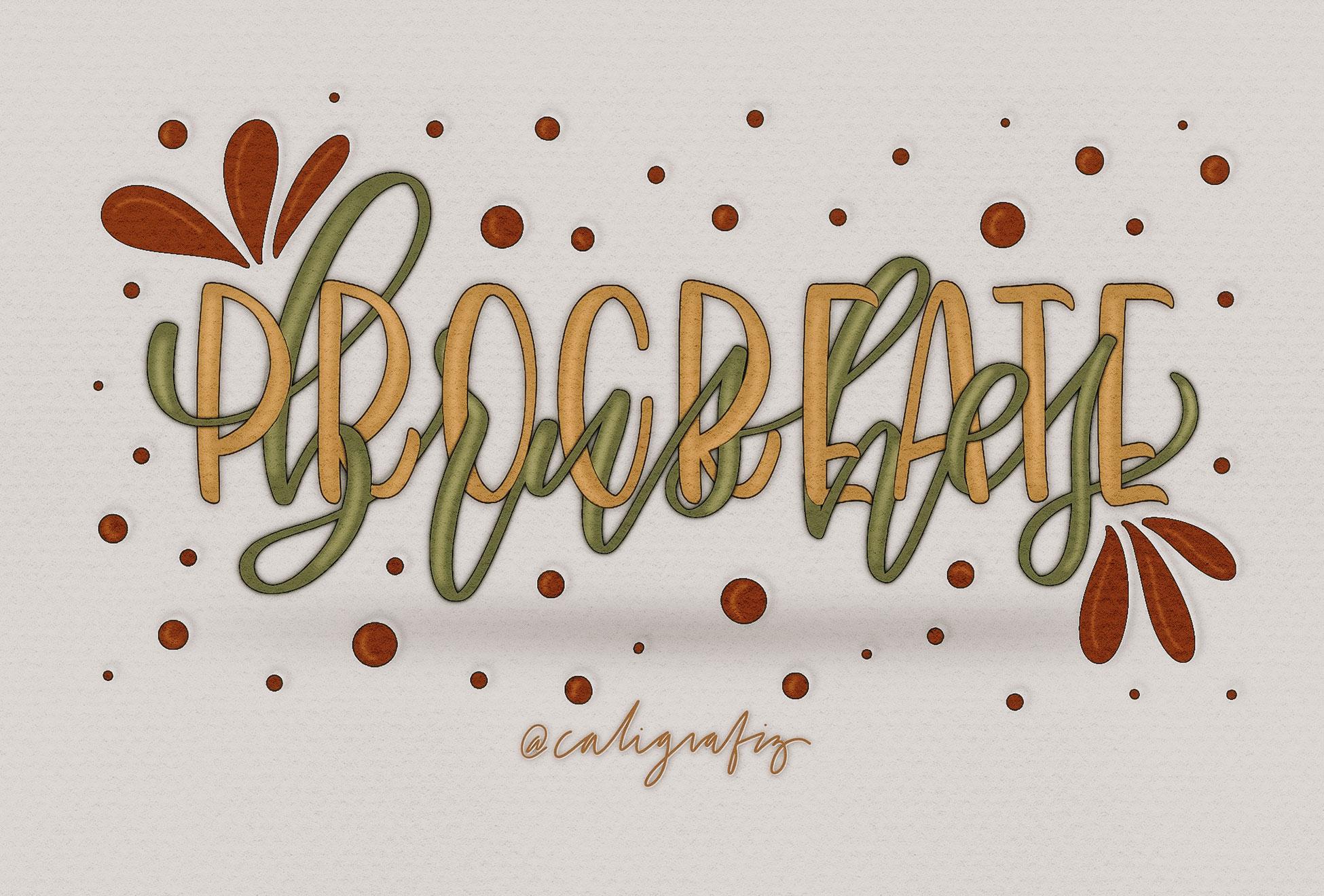 Procreate Brushes by Caligrafiz