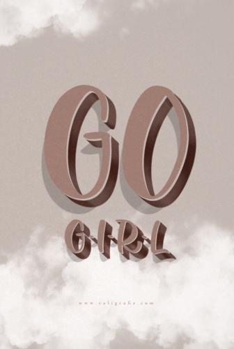 Go Girl | Wallpaper