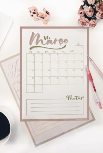 Mauve | Planner de Março