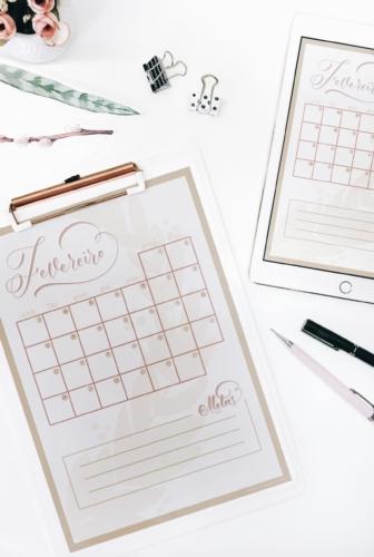 Verano | Planner de Fevereiro