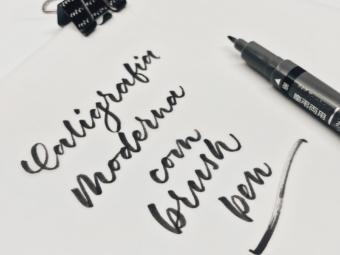 Caligrafia Moderna com Brush Pen: por onde começar.