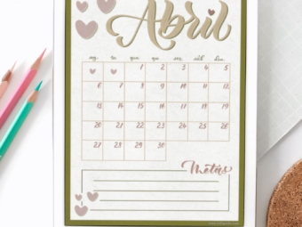 HeartMe | Planner de Abril